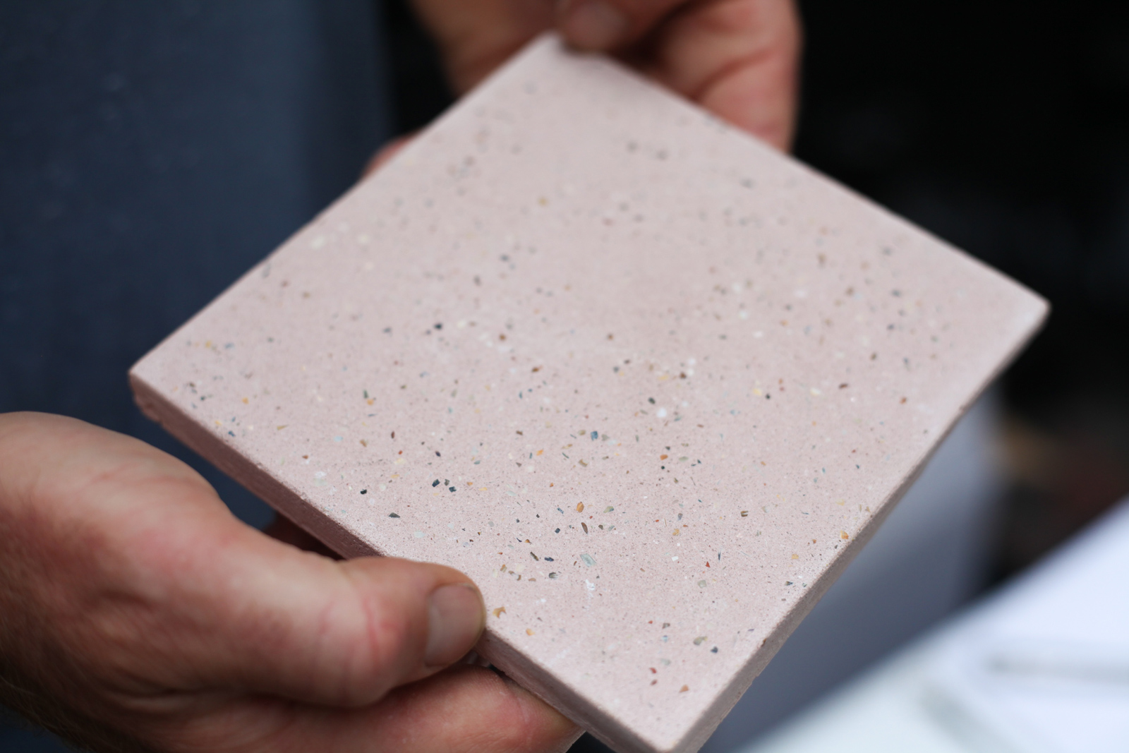 Oyster tile samples