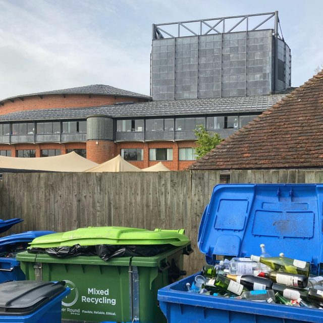 Really happy to have started our work @glyndebourne for a project run by @bakerbrown_studio. We are currently collecting the Glyndebourne glass waste, which will be crushed and transformed into bespoke building materials and features for a new permanent pavilion within the gardens. We are also collecting raw excavated chalks, clays and plant materials from the surrounding estate. 🍾 🍹 🍺 🍷 ♻️♻️♻️ #architecture #reuse #wasteisaresource #glyndebourne #southdownsnationalpark #lwsjournal