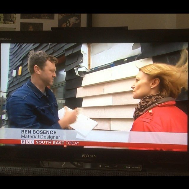 Quality news item on BBC South East Today! #localworksstudio #wastearchitecture #buildingcraft #architecture #design #lwsjournal